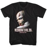 Resident Evil Evil20 Black T-Shirt