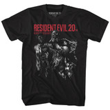 Resident Evil Monsters Black T-Shirt