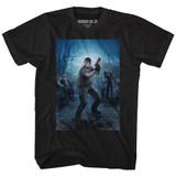 Resident Evil Powerstance Black T-Shirt