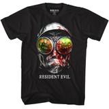 Resident Evil Gasmask Black T-Shirt