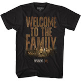 Resident Evil Welcome Black T-Shirt