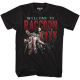 Resident Evil Welcome To Rc Black T-Shirt