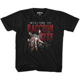 Resident Evil Welcome To Rc Black Children's T-Shirt