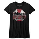 Resident Evil Raccoon City Black Junior Women's T-Shirt