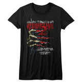 Resident Evil Something Else Black Junior Women's T-Shirt