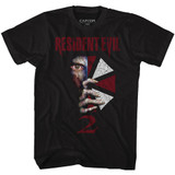 Resident Evil Revil2 Black T-Shirt