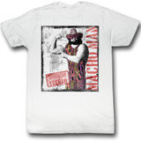 Macho Man Ooooh Yeeeeah White Adult T-Shirt