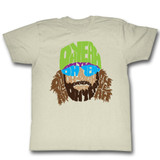 Macho Man Ohyeahohyeahohyeah Natural Adult T-Shirt