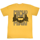 Macho Man Beard Words Ginger Adult T-Shirt