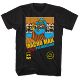 Macho Man Pro Wrestling Black Adult T-Shirt