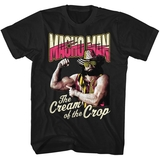 Macho Man Cream Of The Crop Black Adult T-Shirt