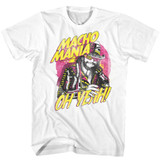 Macho Man Macho Mania White Adult T-Shirt