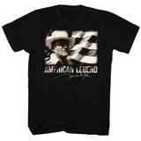 John Wayne Legend Black Adult T-Shirt