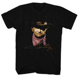 John Wayne Black Adult T-Shirt