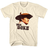 John Wayne Duke Natural Adult T-Shirt