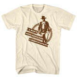 John Wayne Creed And Code Natural Adult T-Shirt