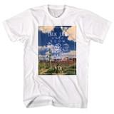 John Wayne Cactus Field White Adult T-Shirt