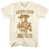 John Wayne Natural Adult T-Shirt