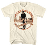 John Wayne Tomorrow Is Natural Adult T-Shirt