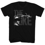 John Wayne The Big Duke Black Adult T-Shirt