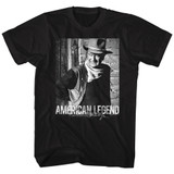 John Wayne A Legend Black Adult T-Shirt