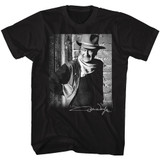 John Wayne Signature Black Adult T-Shirt