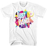 Just Dance Color Explosion Adult T-Shirt