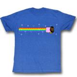 Mr. T Nyan Royal Heather Adult T-Shirt