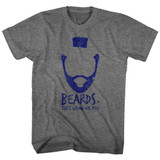 Mr. T Beards Graphite Heather Adult T-Shirt