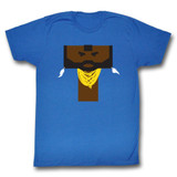 Mr. T Literal T Royal Adult T-Shirt