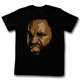 Mr. T Big T Black Adult T-Shirt