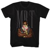 Mr. T Flower T Black Adult T-Shirt