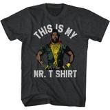 Mr. T I'm Funny Black Heather Adult T-Shirt