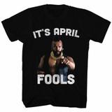 Mr. T It's April Fools Black Adult T-Shirt