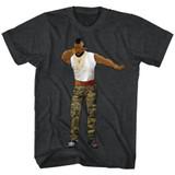 Mr. T Dabbin' Gray Heather Adult T-Shirt