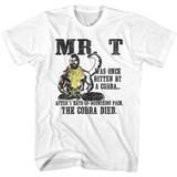 Mr. T Ded Snek White Adult T-Shirt