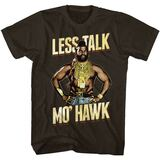 Mr. T Mo'Hawk Dark Chocolate Adult T-Shirt