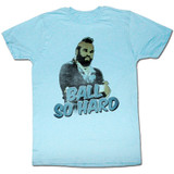 Mr. T Cray Cray Light Blue Heather Adult T-Shirt
