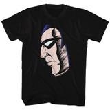 Phantom Phantom Face Black Adult T-Shirt