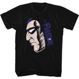 Phantom Phantom Face/Logo Black Adult T-Shirt