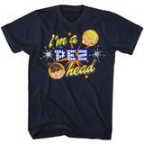 Pez Pez Head Navy Adult T-Shirt