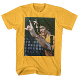Bruce Lee Waaaaah Ginger Adult T-Shirt