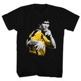Bruce Lee Hooowah Black Adult T-Shirt