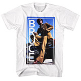 Bruce Lee Bruce White Adult T-Shirt