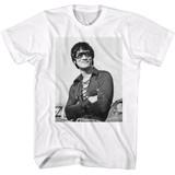 Bruce Lee Smug White Adult T-Shirt