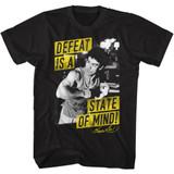Bruce Lee Mind State Black Adult T-Shirt