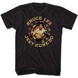 Bruce Lee Jeet Kune Do Master Black Adult T-Shirt