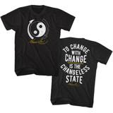 Bruce Lee Change Black Adult T-Shirt