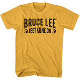 Bruce Lee Jeet Kune Do Text Ginger Adult T-Shirt