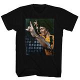 Bruce Lee Yeeeaaahh Black Adult T-Shirt